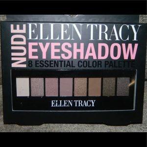 Ellen Tracy Nude Eyeshadow Palette 8 Colors NEW